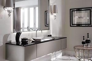 Selection of bathroom cabinets/vanities