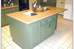 base cabinet kitchen island