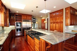 full kitchen island