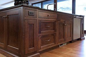 framed cabinets