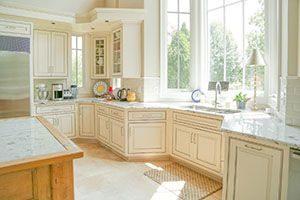 glazed cabinets