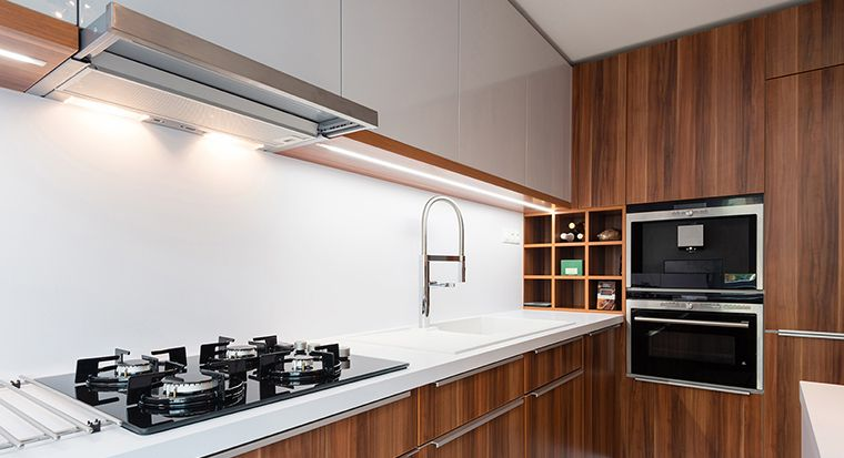kitchen with Thermofoil cabinets