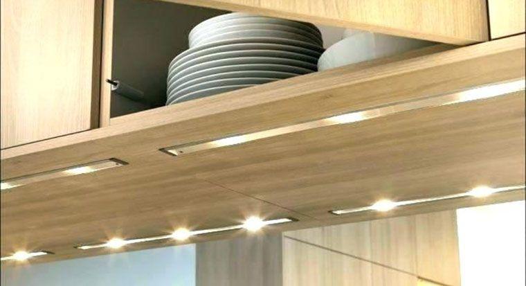 LED strip under cabinet lights