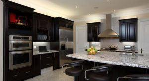 kitchen with beautiful cabinets