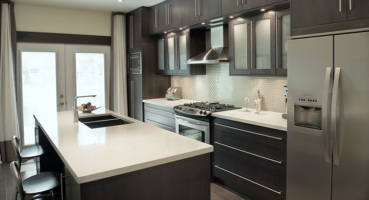 cabinets with frosted glass