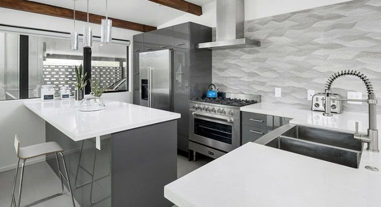 cabinets with stainless steel hardware