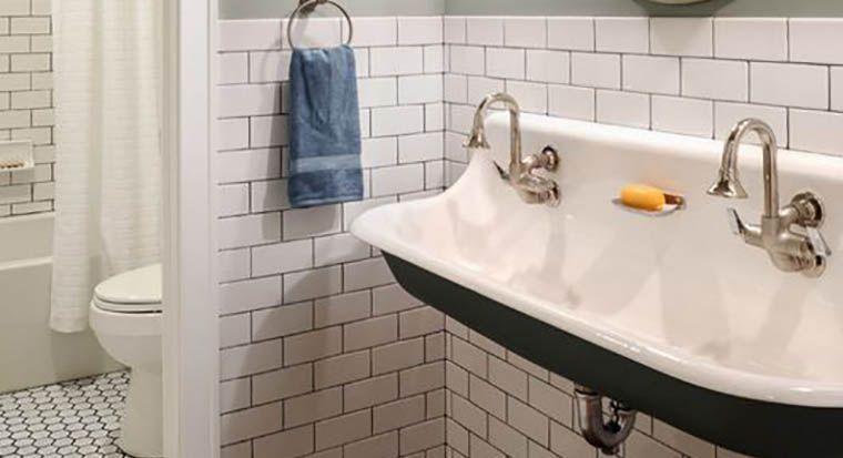 cast iron sink from Kohler