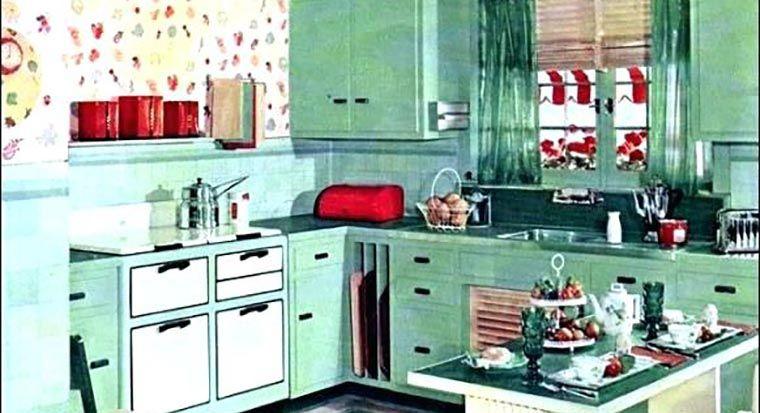 1920s white kitchen