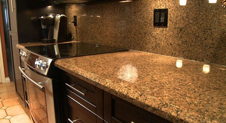 granite slabs and tiles