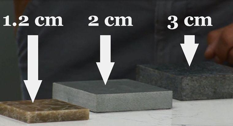 granite thickness comparison