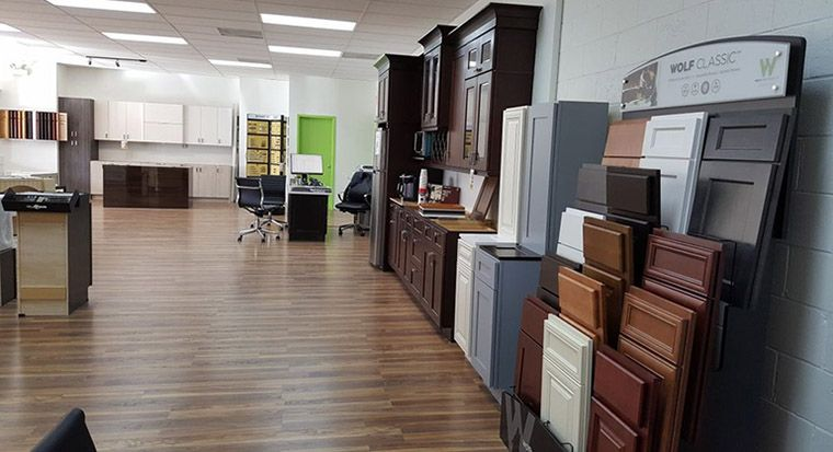 Cabinetland showroom