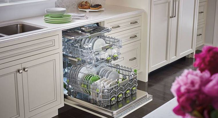 space between cabinets for dishwasher