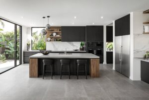 Functional flooring in modern kitchens