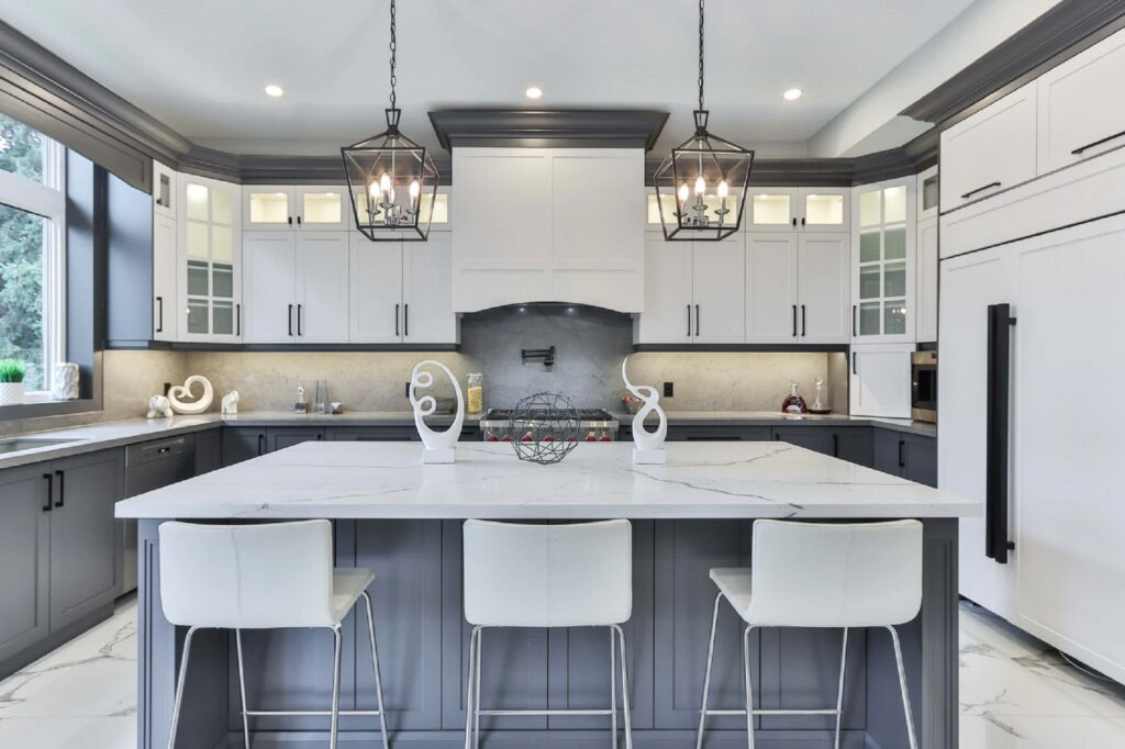 Choose Modern Color Schemes while kitchen remodel